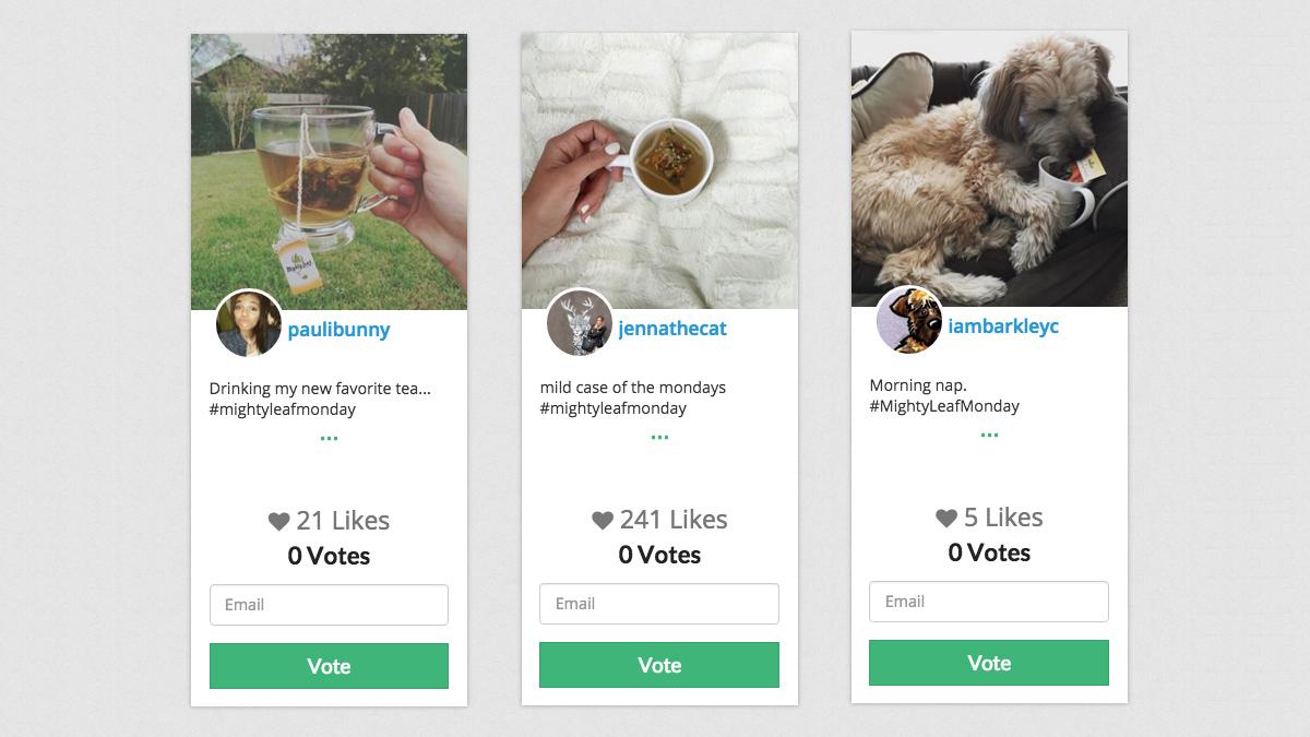 Wishpond – Instagram Hashtag Contest