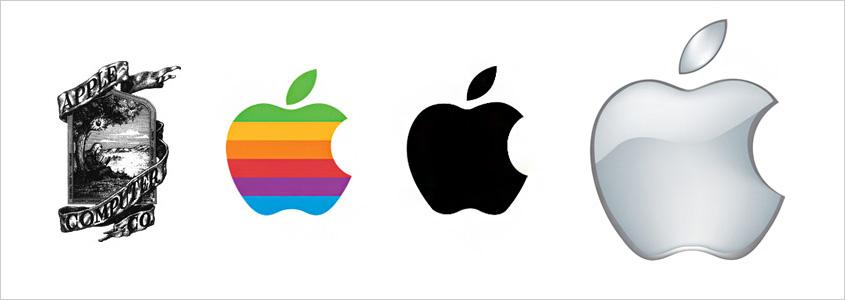 Эволюция фирменного знака Apple