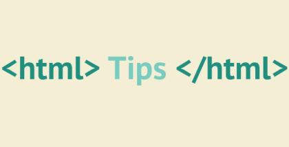 HTML советы