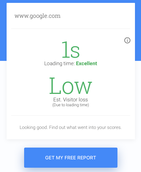 Google Test Your Mobile Website Speed and Performance