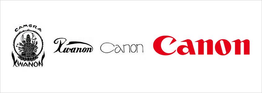 Эволюция логотипа Canon